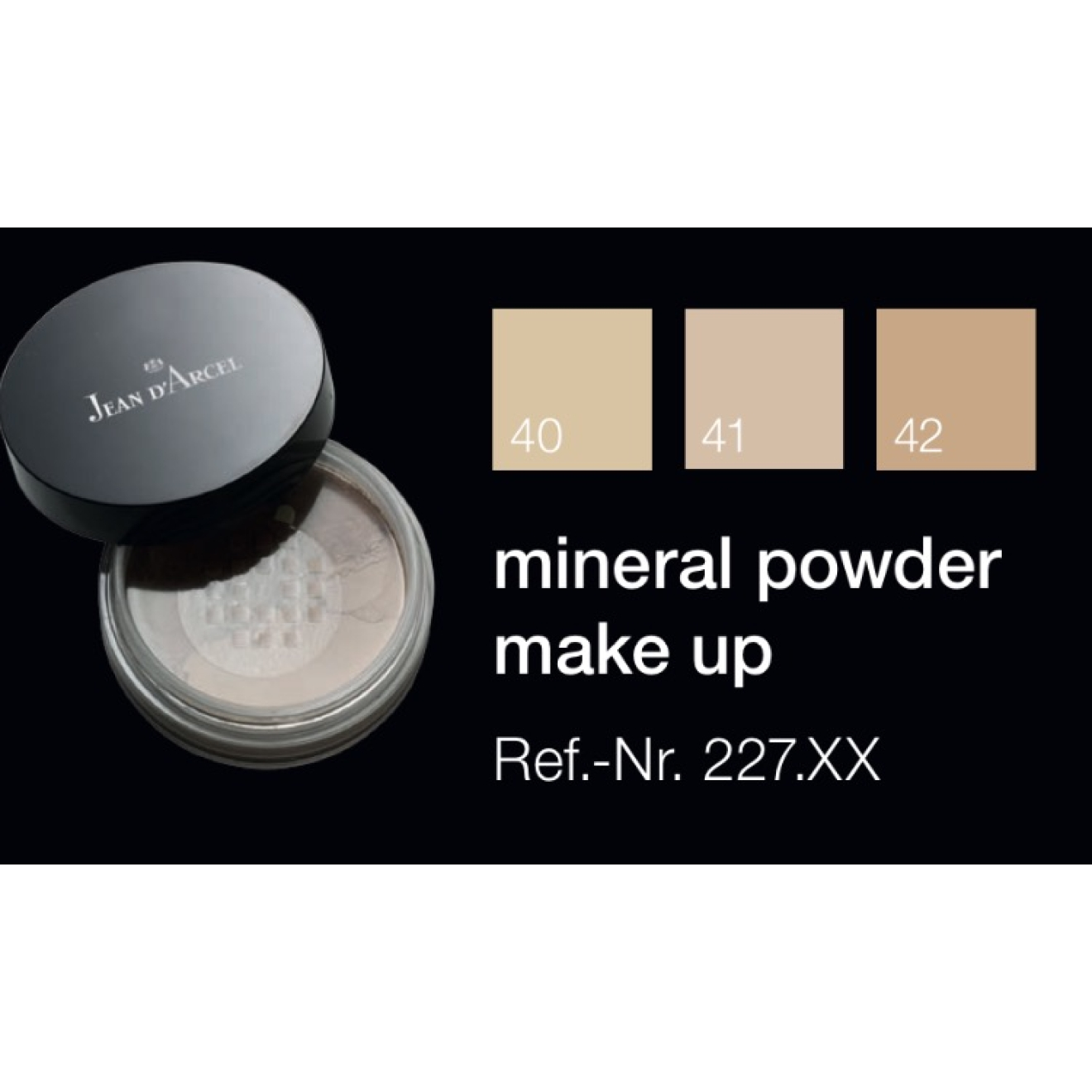 Jean D'Arcel - Brillant Mineral Powder Make Up No. 41