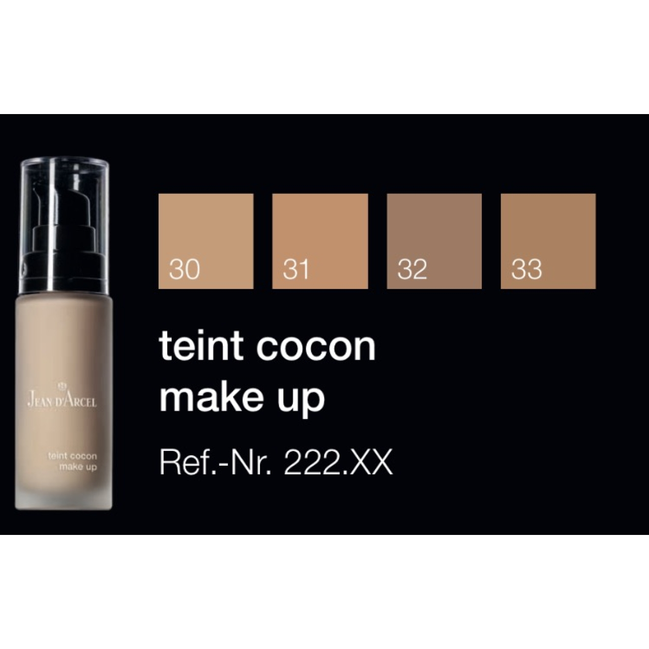 Jean D'Arcel Teint Cocon Make up Nr 33
